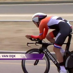 Gold for Van Dijk, bronze for Van Vleuten at European Games