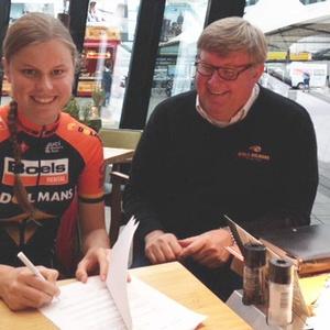 Amalie Dideriksen reinforces Boels-Dolmans Cycling Team