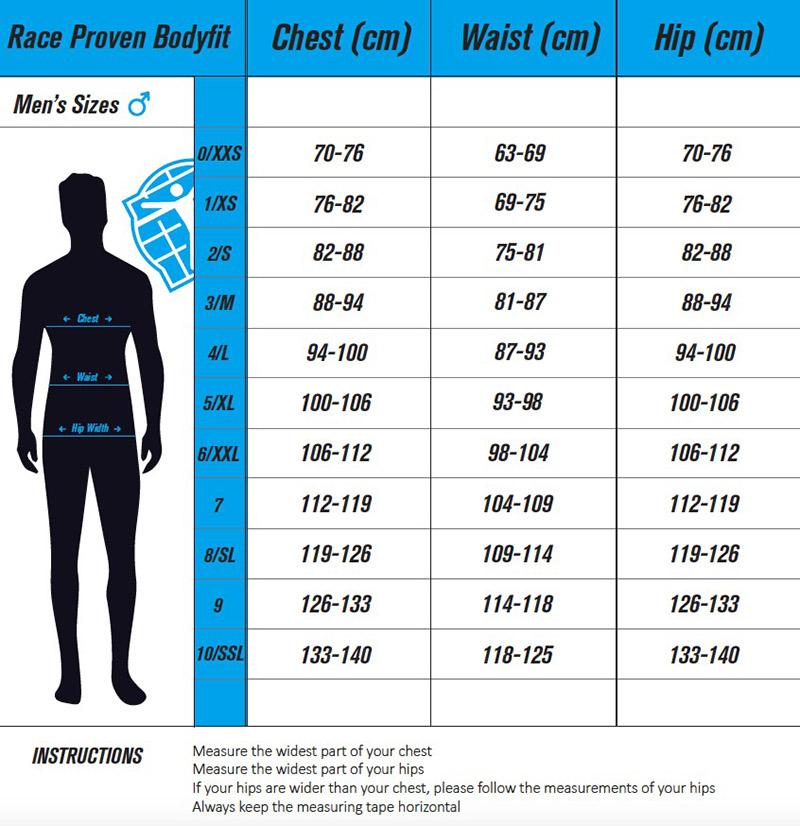 Race Proven bodyfit men