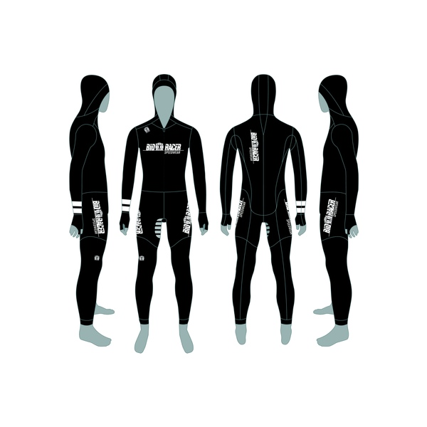 16308: Race Suit Rubber Sprint