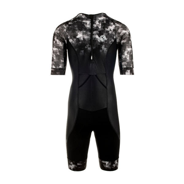 Tri team suit ss - bp zipper back