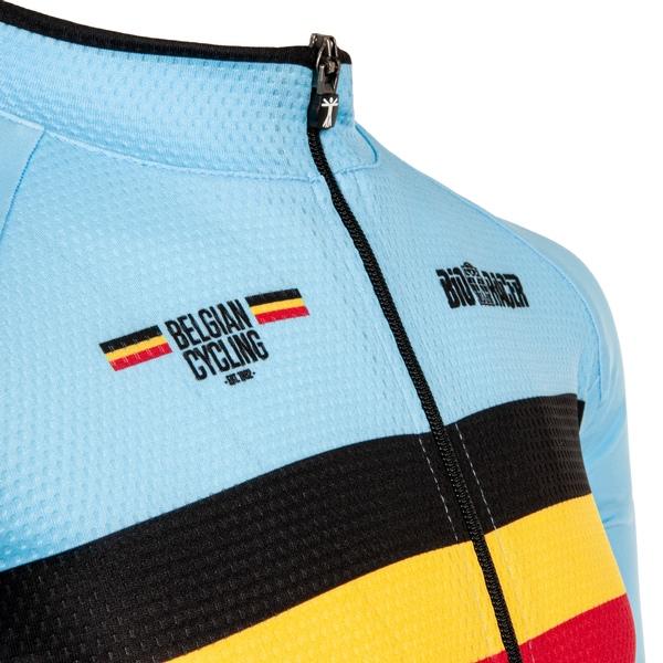 Belgium short sleeve Jersey Bodyfit 2.0 KIDS