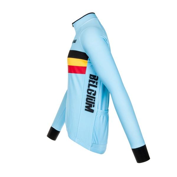Belgium long sleeve Jersey Tempest 2.0