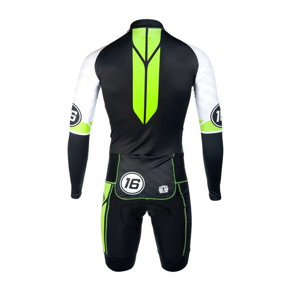 Prof Aerosuit LS with Race Proven Shorts Lycra