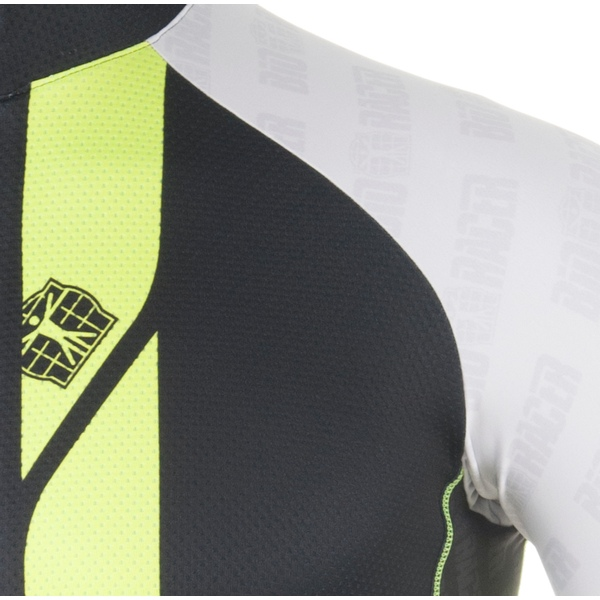 Jersey ss logo - white